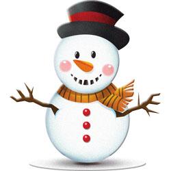 Christmas clipart: Snowmen, Stockings, Rocking Horse