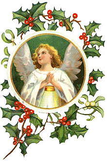 Angel On an Ornament