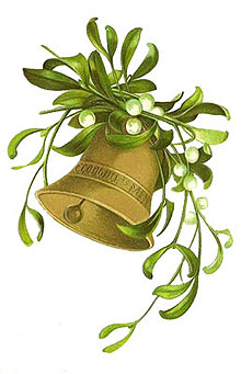 Free Clipart - Christmas Bell