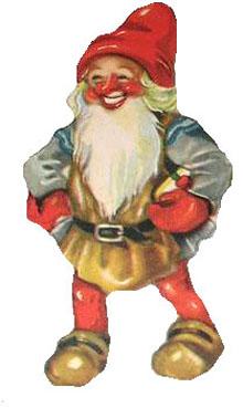 Vintage - Christmas elf