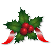 Clipart Holly - Synkee