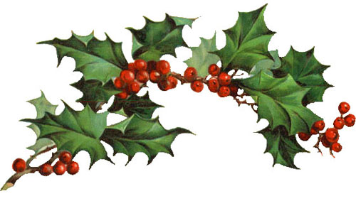 Clip Art Christmas Free Clipart free christmas clipart vintage holly holly