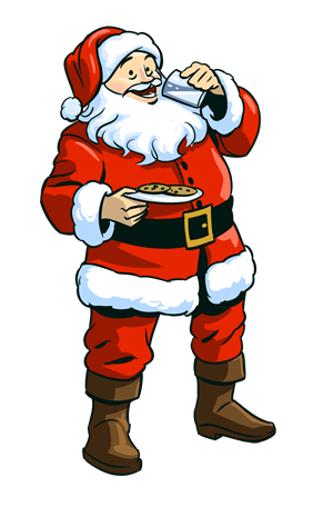 free christmas clipart new for 2012 rh christmasgifts com Santa and Reindeer Clip Art Breakfast with Santa Clip Art