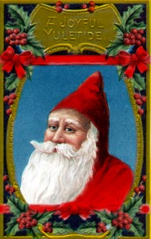 Vintage - Santa Claus ornament
