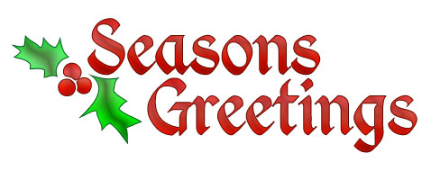 Seasons Greetings Clipart