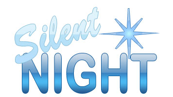 Silent Night Christmas Clipart