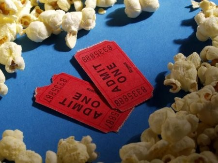 Romantic dinner and movie gift