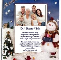 Snowman Frame – Poetry Gift that will warm their hearts!