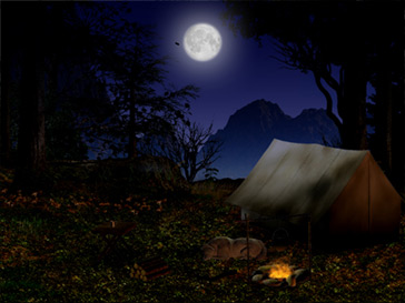 Great Gifts for That Outdoorsman | Christmas Gifts Camping Forest Wallpaper