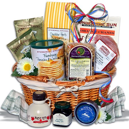 Easter gift baskets not just for kids christmas gifts hungry egg hunters will enjoy fluffy pancakes topped with 100 pure new hampshire maple syrup or buttery biscuits topped with thick cut mouth watering negle Image collections