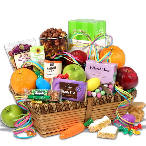Easter gift baskets not just for kids christmas gifts for adults when it comes to gift baskets you really cant go wrong with a fruit basket this is their easter orchard fruit basket and comes loaded with negle Images