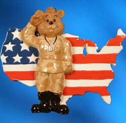 Show Your Appreciation With Military Christmas Ornaments