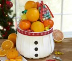 Cute-as-a-Button Fruit Gift Basket