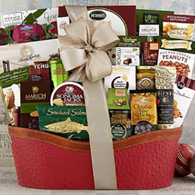 Executive Gift Basket for Professionals - Christmas Gifts