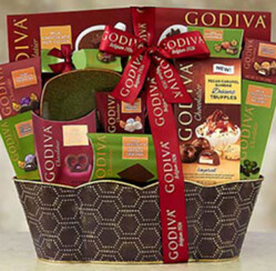 Chocolate Christmas Gift Baskets – A Chocolate Lover's Dream