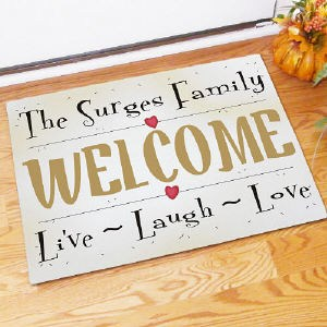 Live, Love, Laugh Doormat