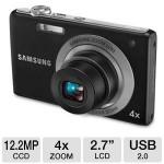 Samsung Digital Camera 2.7 inch LCD, Black