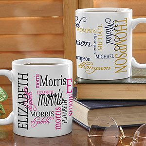 Signature Style Personalized Coffee Mug