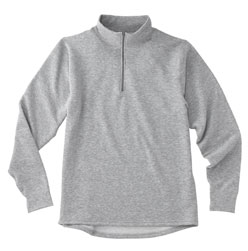 Womens Moisture Wicking Expedition Weight Zip T