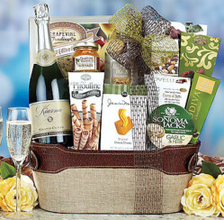 Ring In 2013 With Gift Baskets of Wine and Champagne