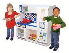 Pretend Kitchen With Kids