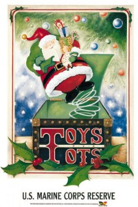 Toys For Tots 1996 Poster