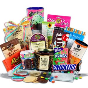 Ice Cream Social Gift Basket