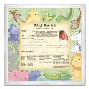 Personalized Day You Were Born Print