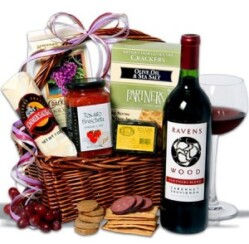 holly jolly christmas gift basket ideas for women