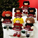 Christmas Rag Dolls