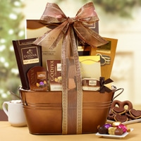 Have an Especially Sweet Christmas with these Chocolate Gift Baskets