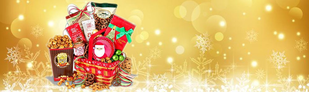 Holiday Sweets and Treats Gift Basket