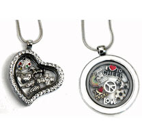 Personalized Charm Locket Necklace