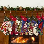 Vintage Handcrafted Needlepoint Stockings by Personal Creations