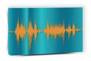 Voice Art Canvas
