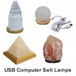 USB Computer Mini Himalayan Salt Lamps