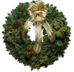 Who Won Our Santa's Favorite Wreath Christmas Giveaway?