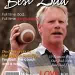 Best Dad Magazine Cover