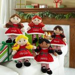 Christmas Personalized Rag Dolls
