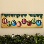 Classic Ornament Personalized Canvas