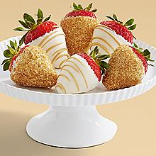 Half Dozen Hand-Dipped Champagne Strawberries