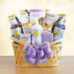 Lavender Bath and Body Basket