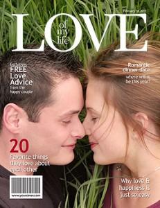 Love Magazine Cover