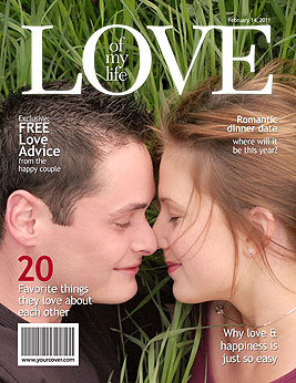 Love Magazine Cover