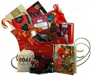 Night Before Christmas Gift Basket
