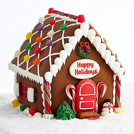 Personalizable Handmade Gingerbread House