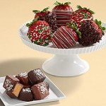 Sea Salted Caramels & Half Dozen Christmas Strawberries