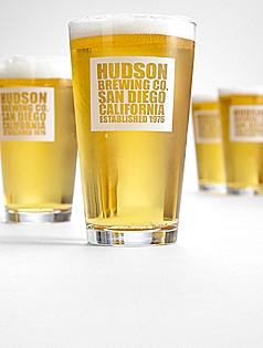 Personalized Brewing Co. Pub Glasses