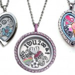 Personalized Charm Locket Necklace for Girls