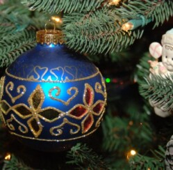 Where did Christmas ornaments come from?